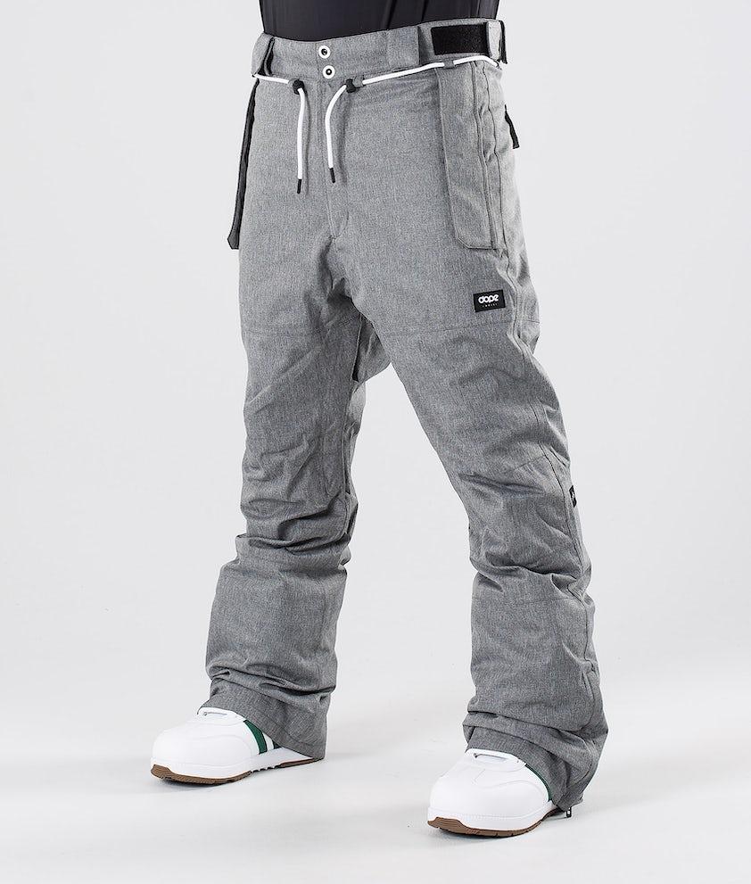 Dope Iconic NP Pantalon de Snowboard Grey Melange
