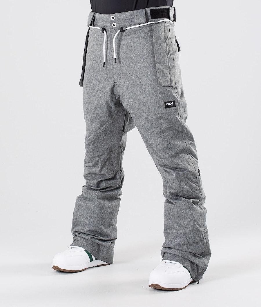 Dope Iconic NP Pantaloni da snowboard Grey Melange