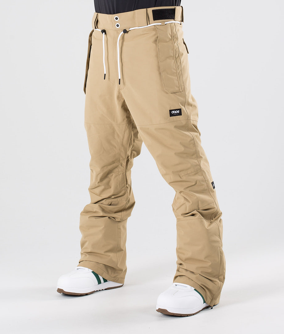 Dope Iconic NP Snow Pants Khaki