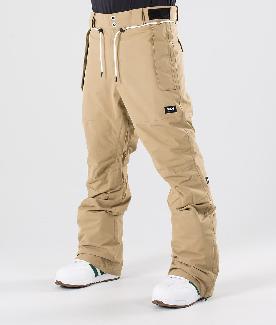 Dope Iconic NP Snow Pants Khaki