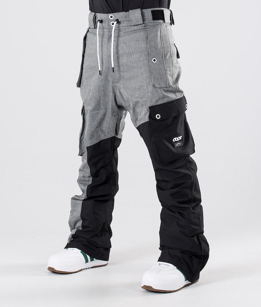Dope Adept Pantalon de Snowboard Grey Melange/Black