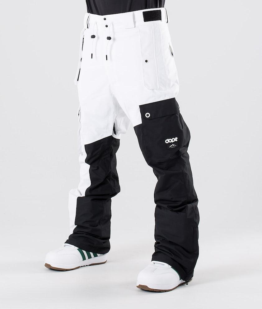 Dope Adept Snowboardbyxa Black/White