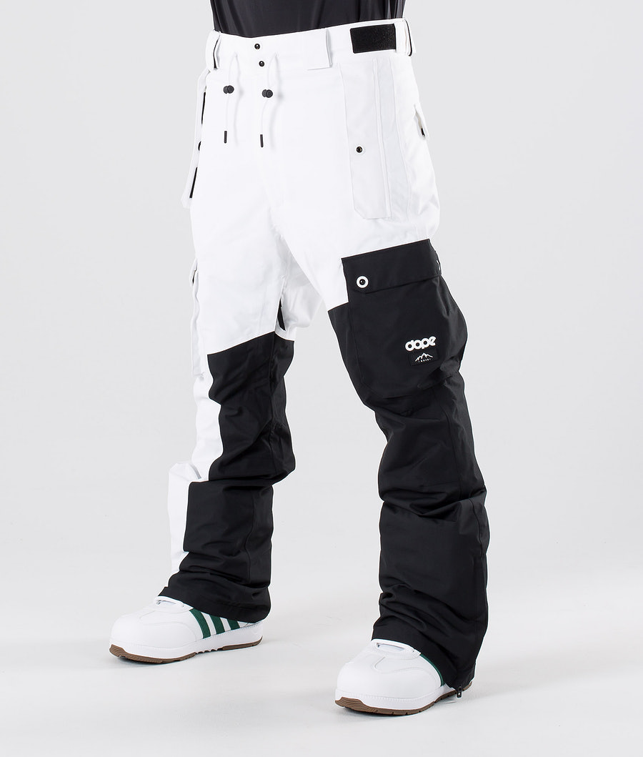 Dope Adept Snow Pants Black/White