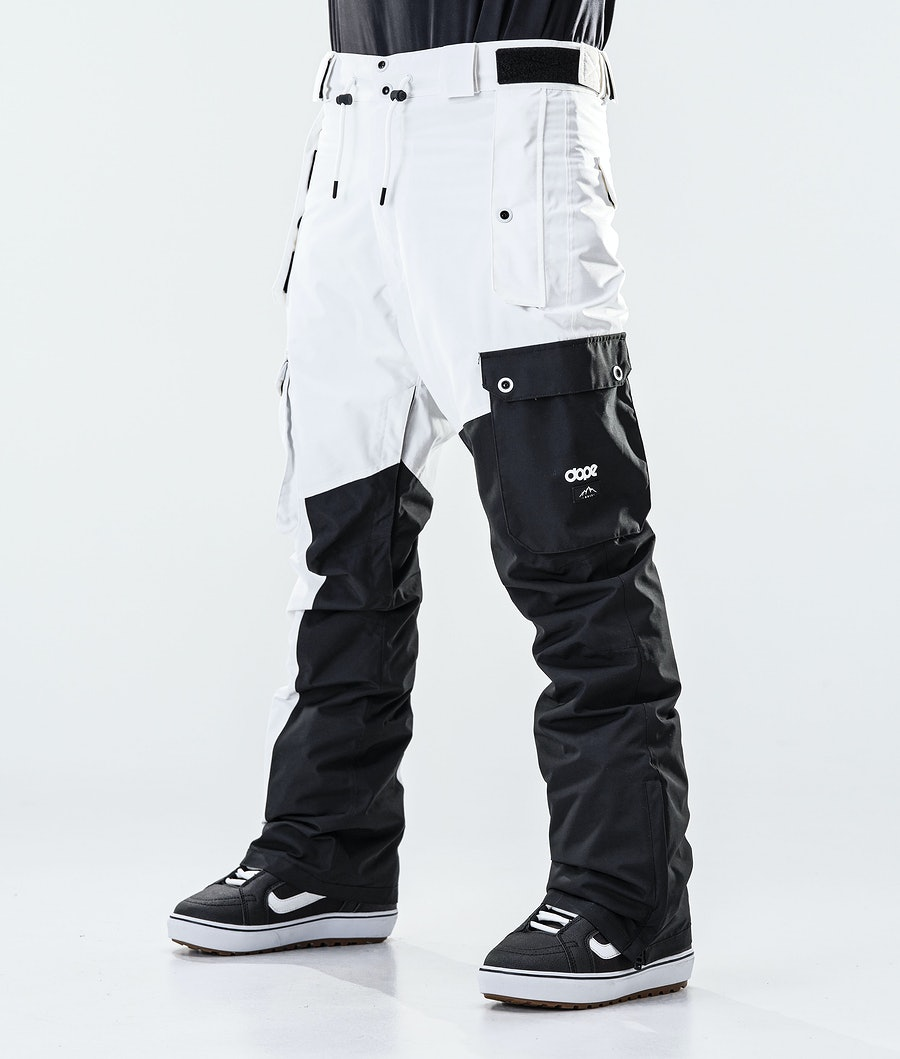 Dope Adept Snowboard Pants Black/White