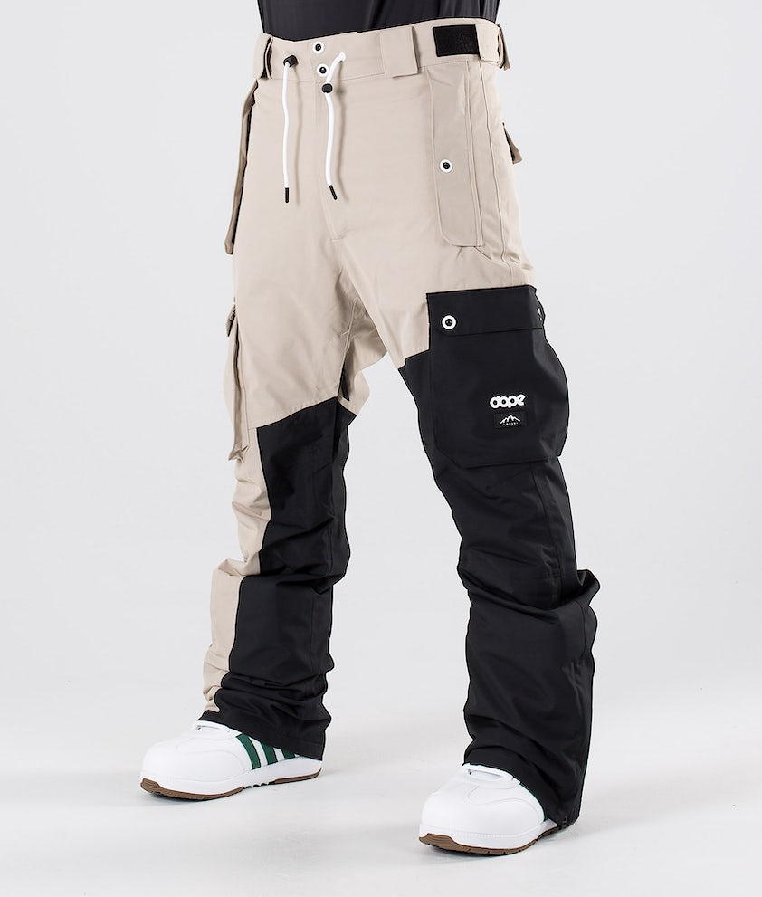 Dope Adept Snow Pants Sand/Black