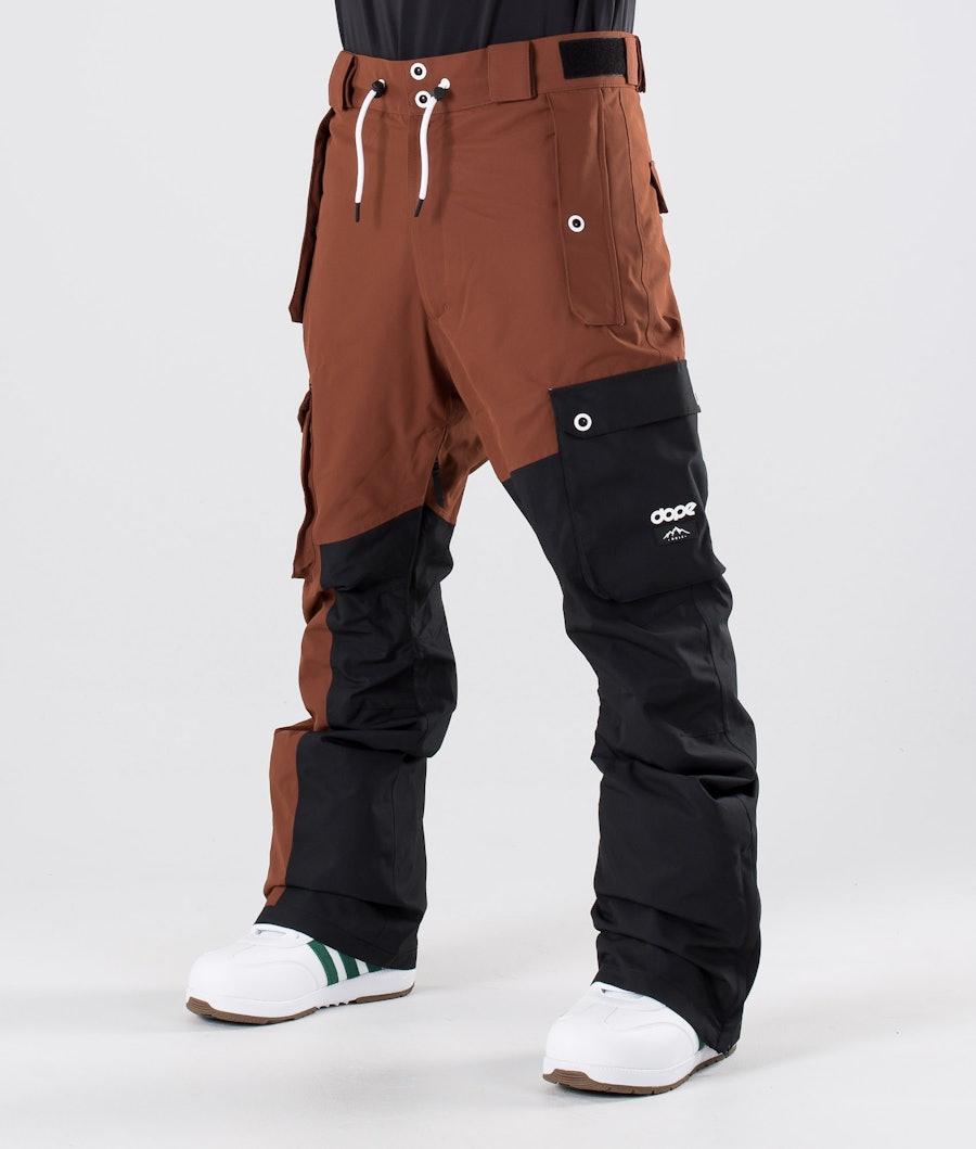 Dope Adept Pantaloni da snowboard Adobe/Black