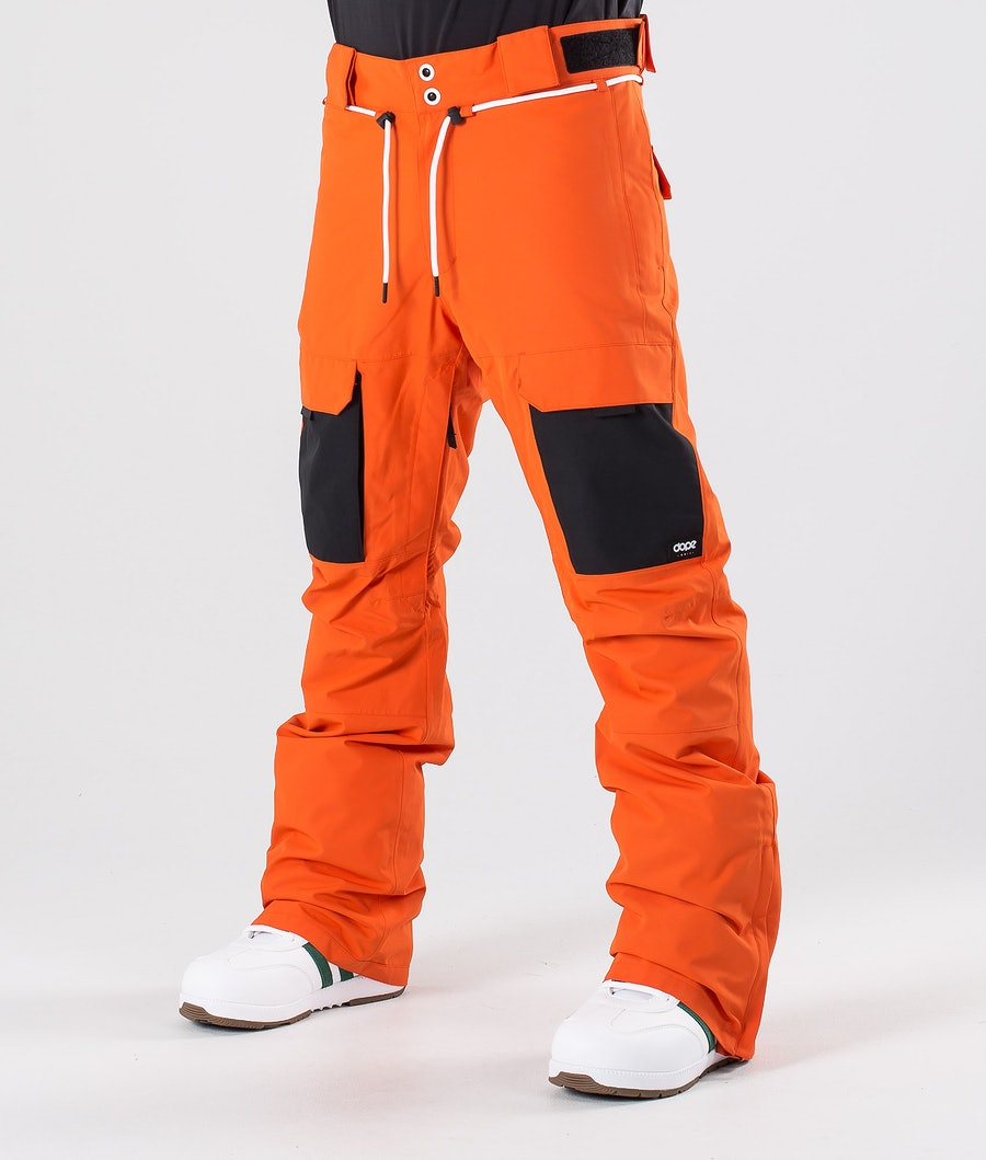 Dope Poise Snow Pants Orange/Black