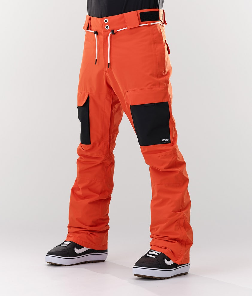 Dope Poise Snowboardbukse Orange/Black