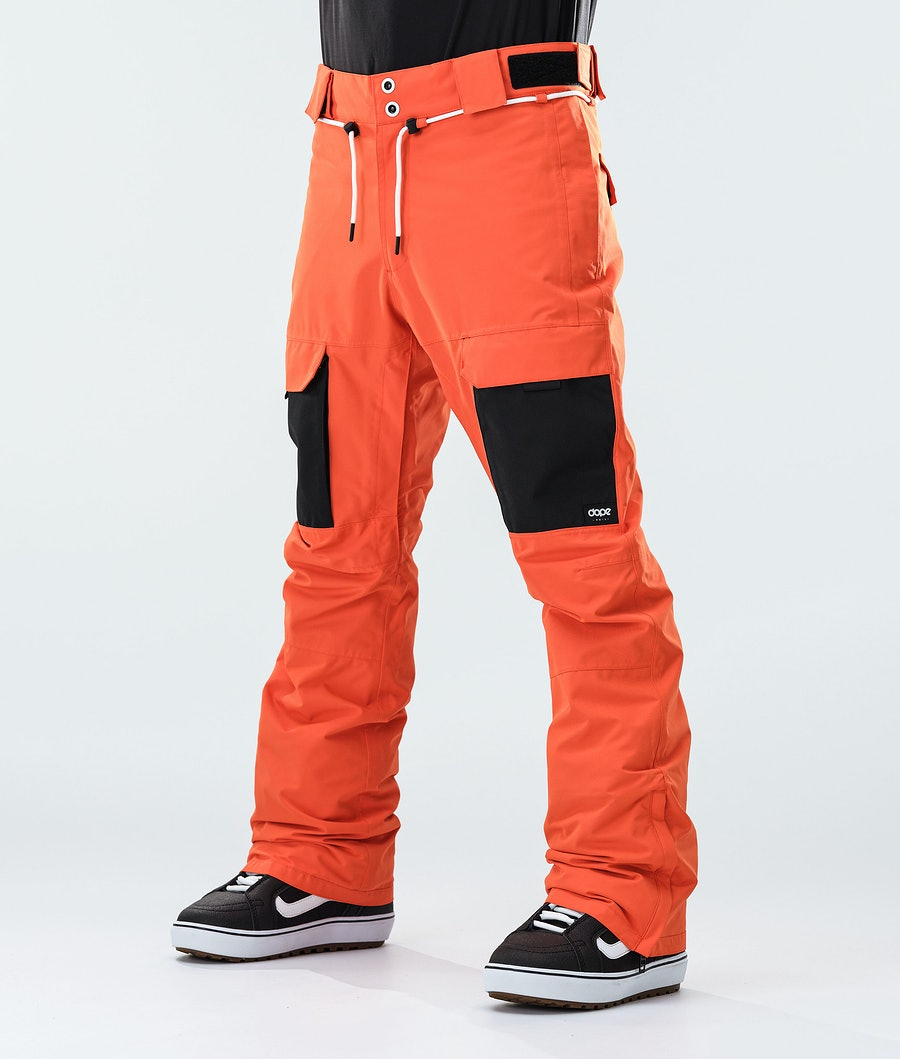 Dope Poise Snowboard Pants Orange/Black