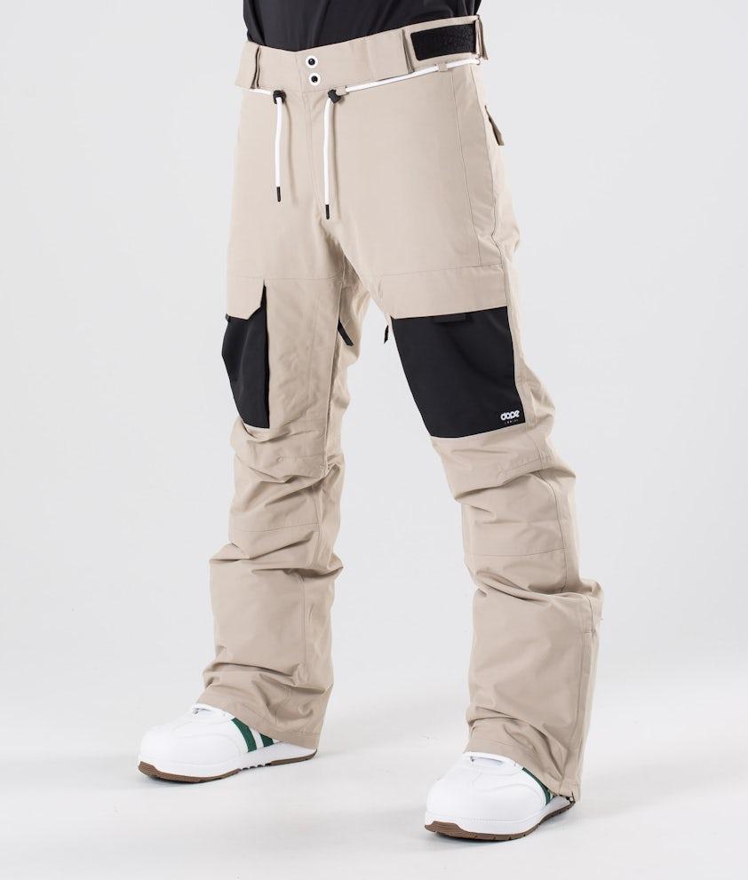 Dope Poise Snowboard Pants Sand/Black