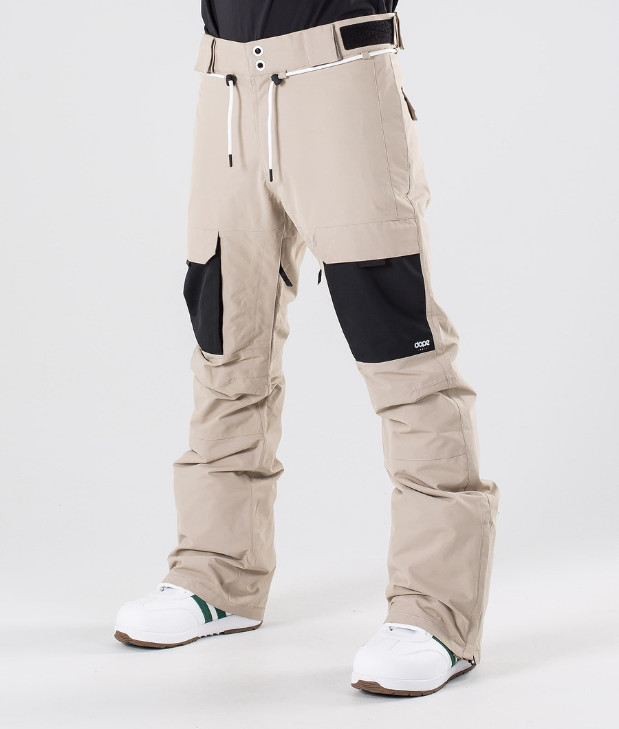 Dope Poise Snow Pants Sand/Black