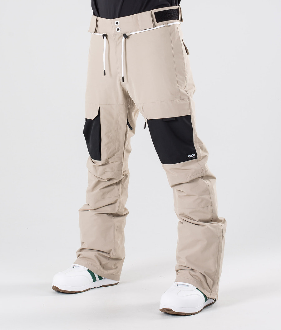 Dope Poise Pantalon de Snowboard Sand/Black
