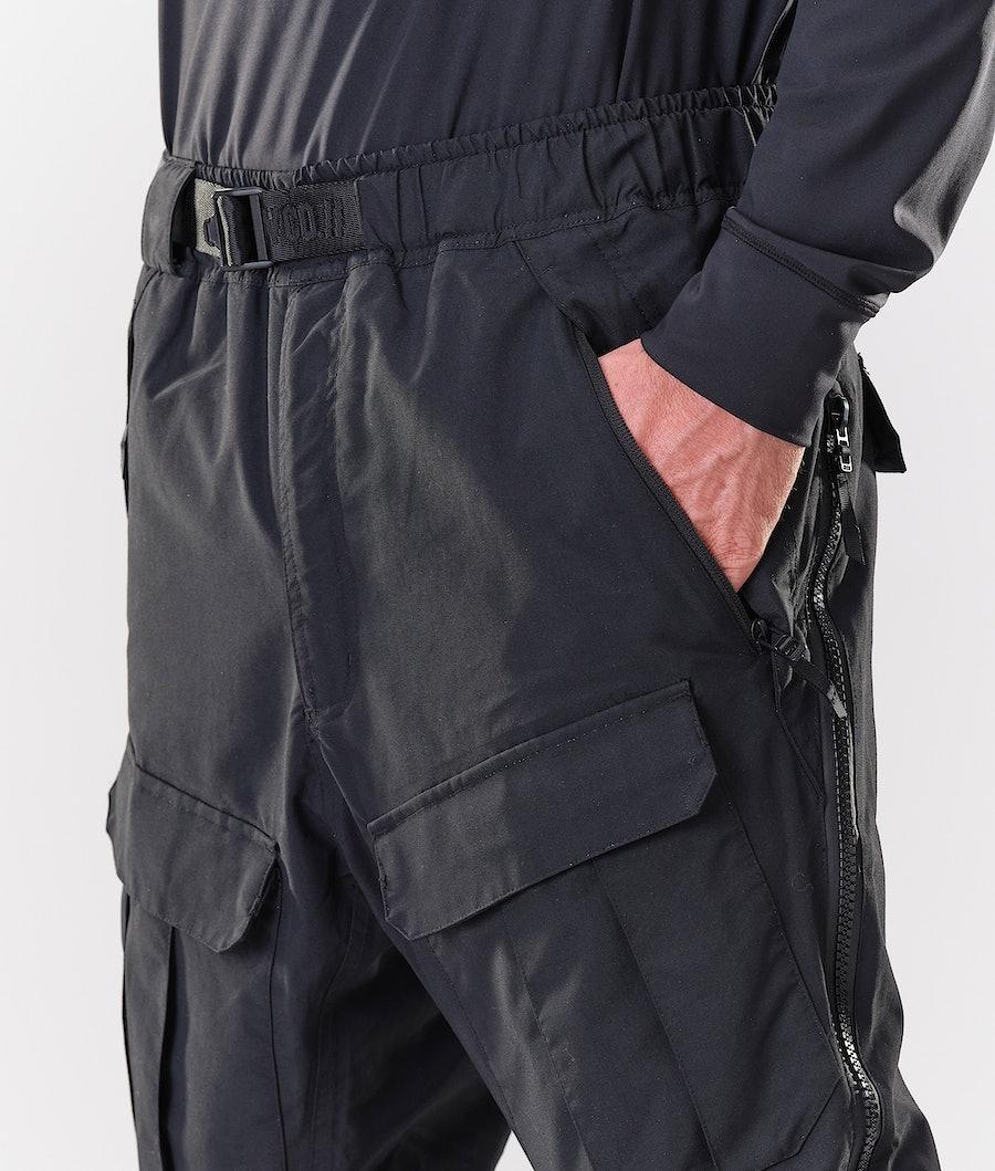 Dope Antek Pantaloni da Snowboard Black