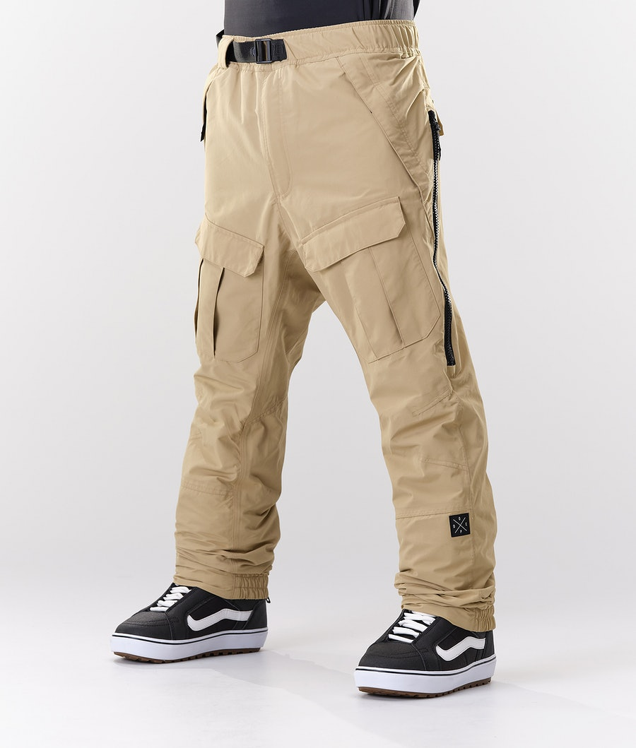 Dope Antek Snow Pants Khaki