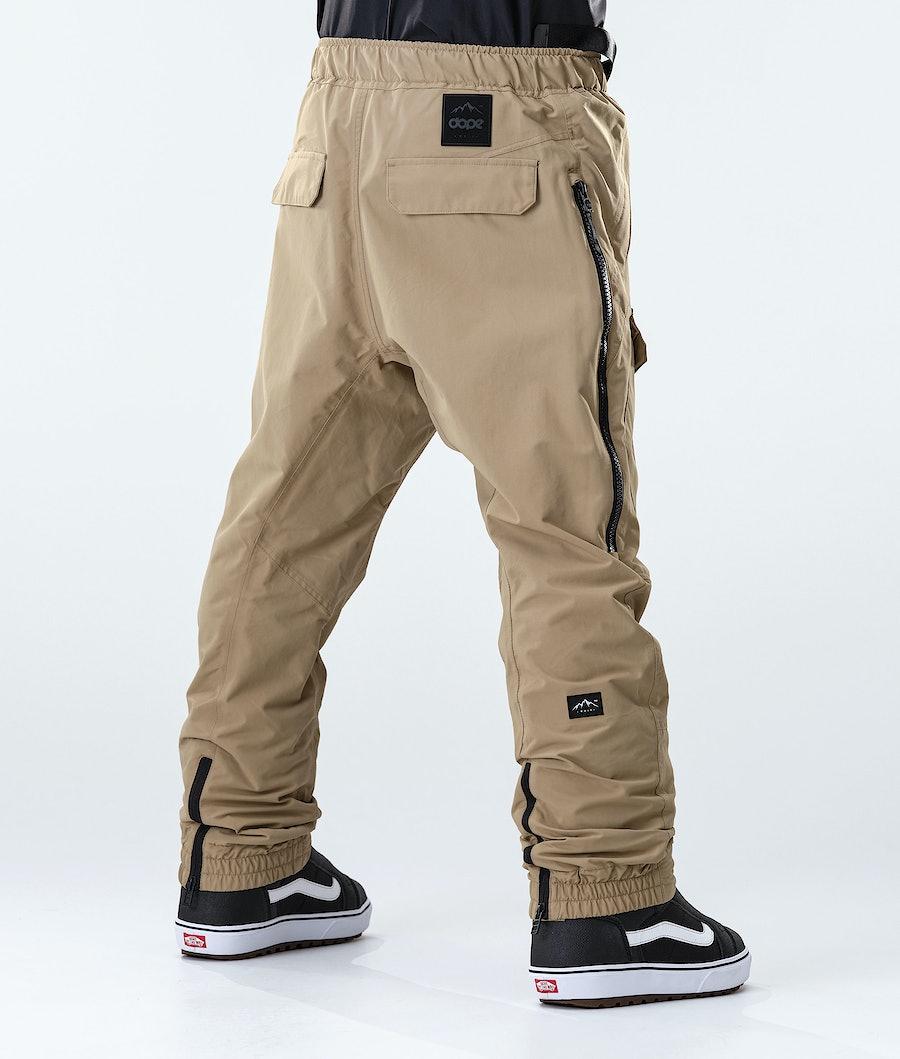 Dope Antek Pantaloni da Snowboard Khaki