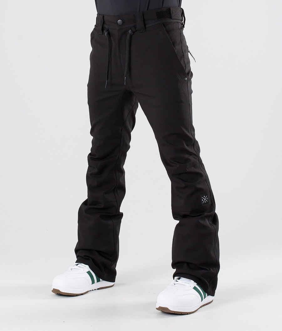 Dope Tiger Snow Pants Black