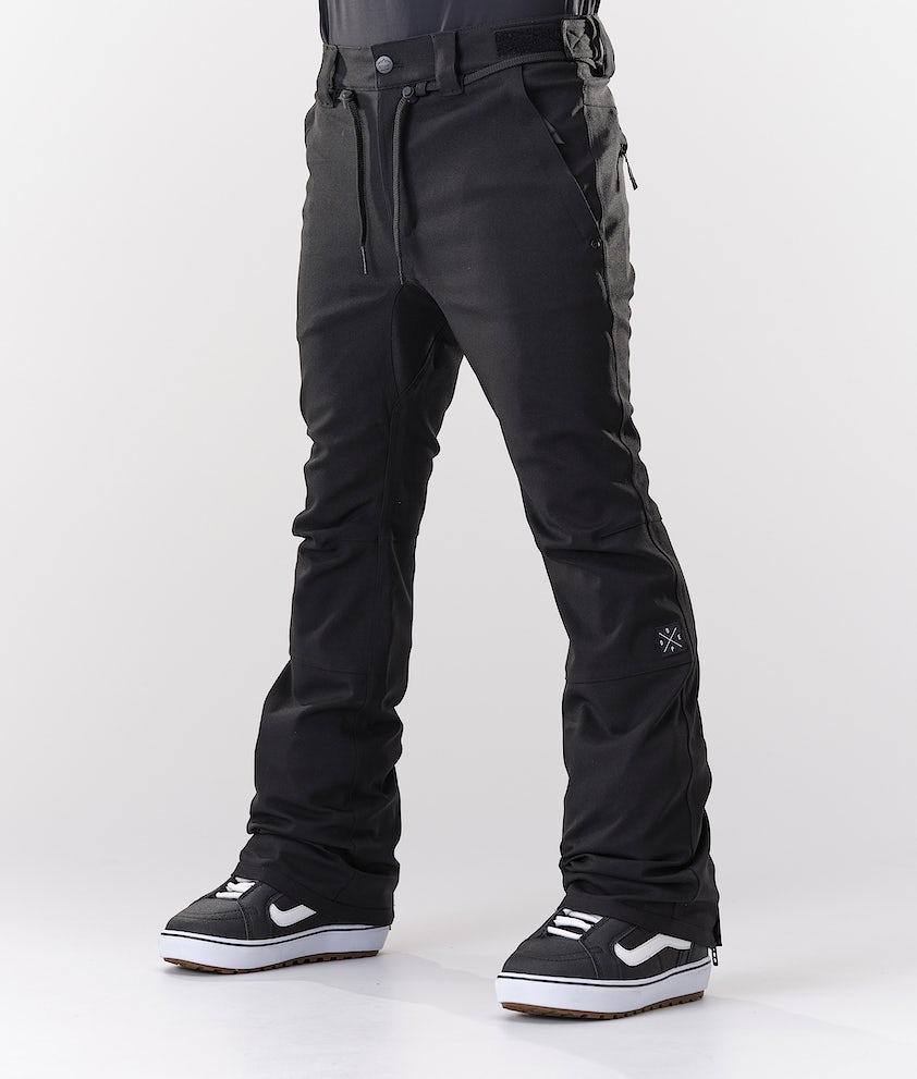 Dope Tiger Snow Pants Black