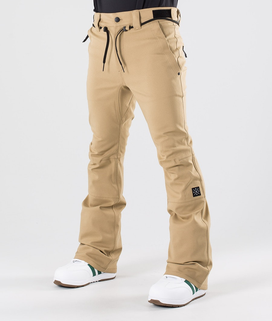 Dope Tiger Snow Pants Khaki