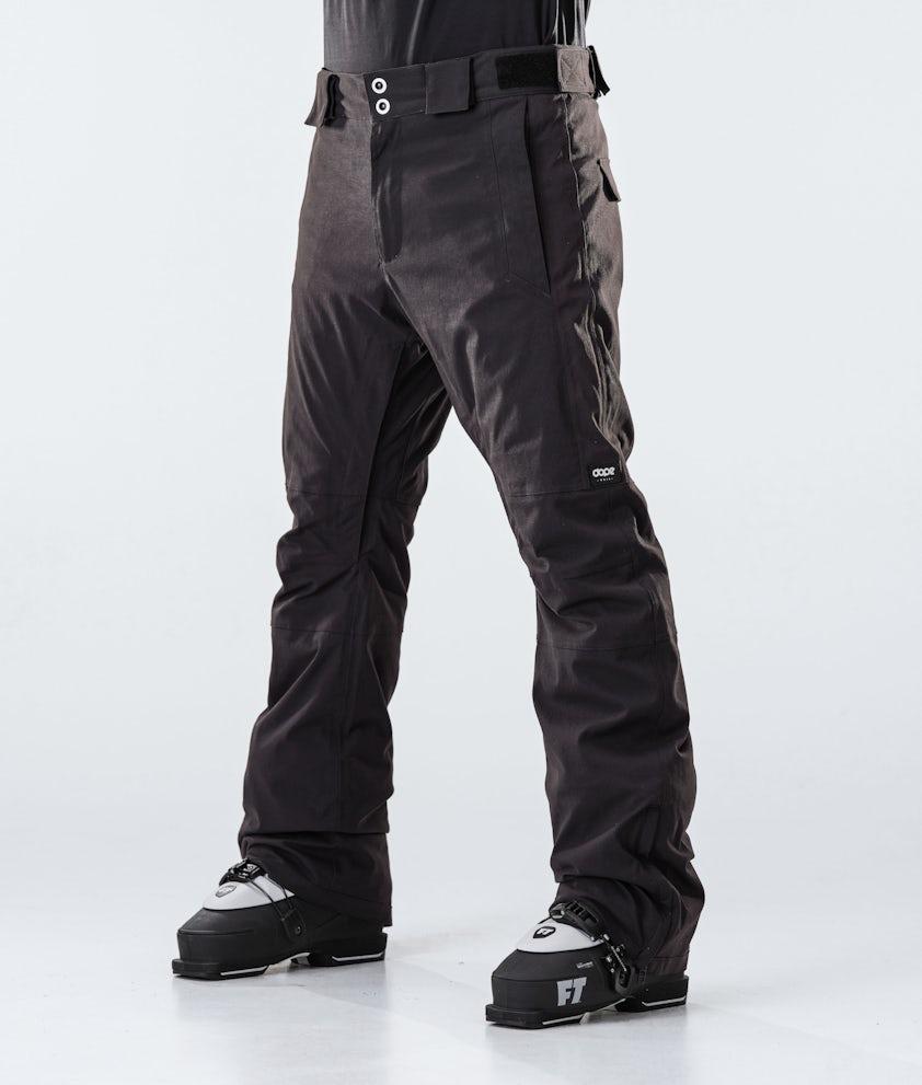 Dope Hoax II Pantaloni da Sci Black