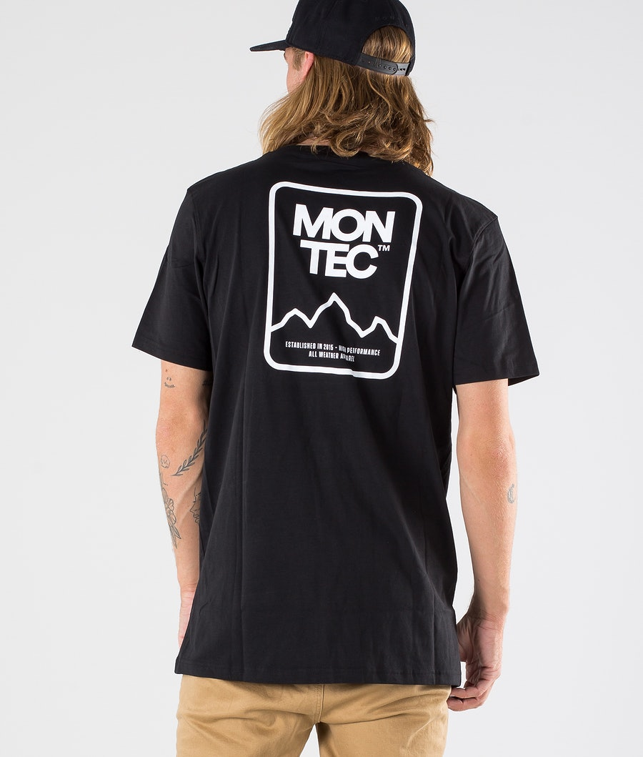 Montec Ridge T-shirt Black
