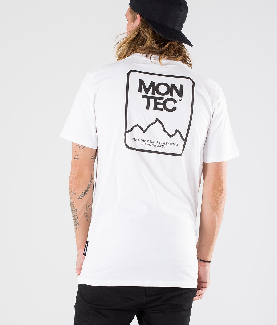 Montec Ridge T-shirt White