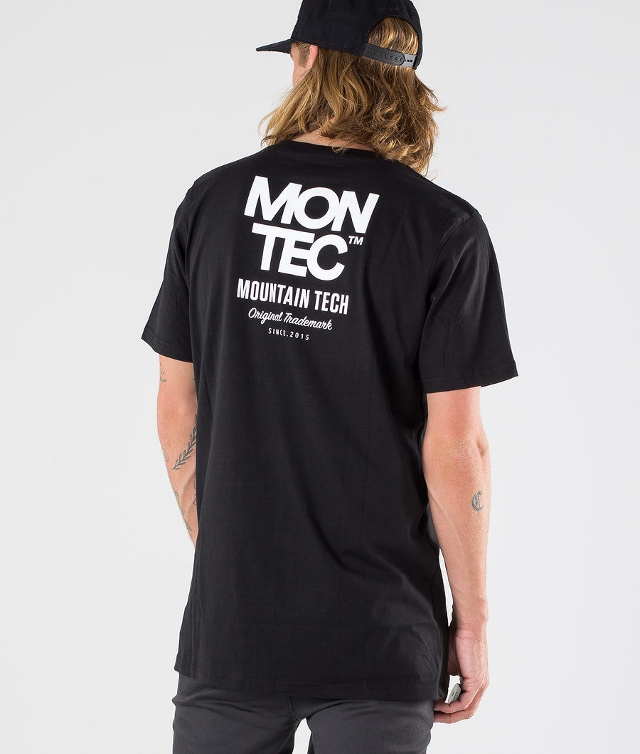 Montec M-Tech T-shirt Black
