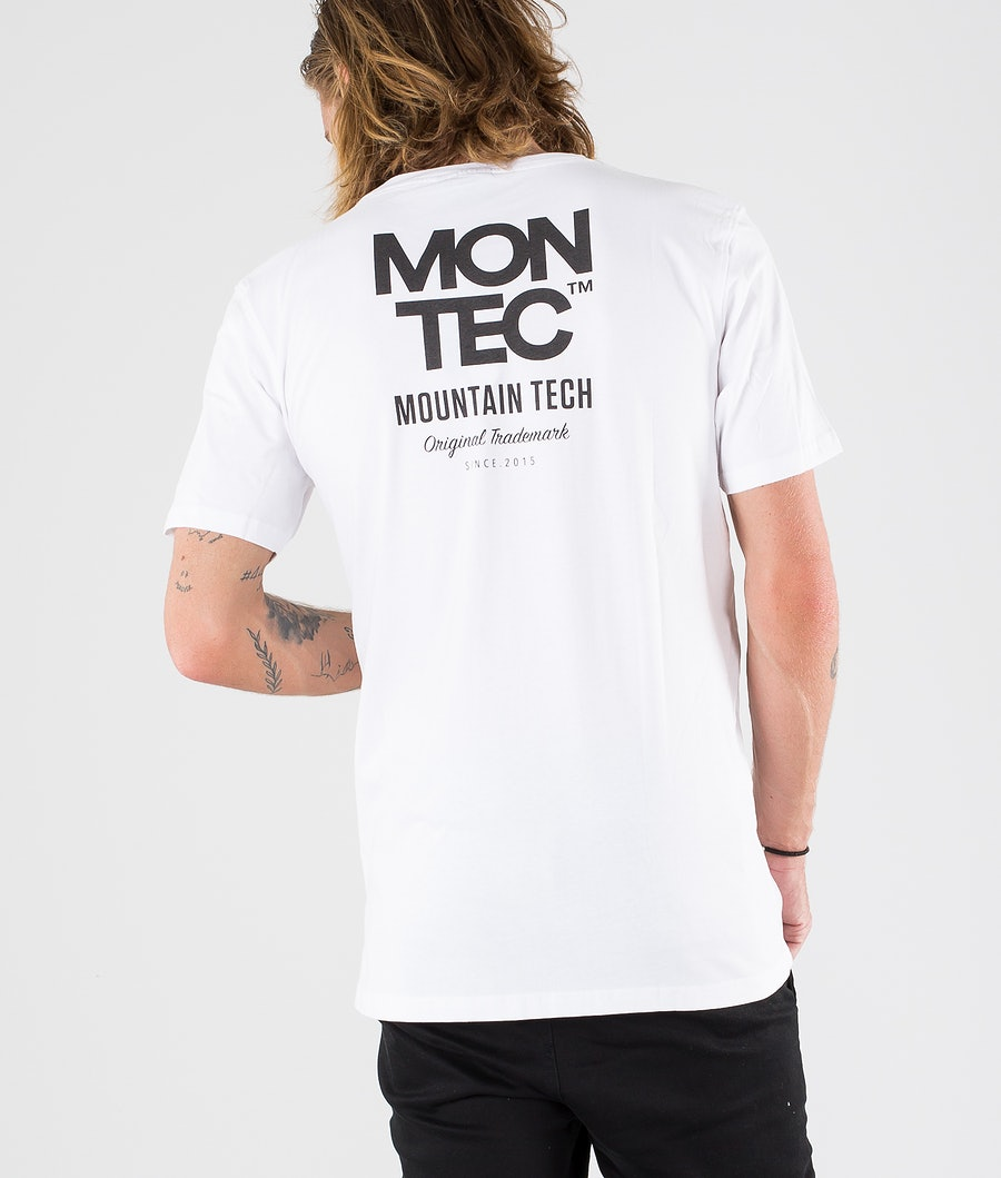 Montec M-Tech T-shirt White