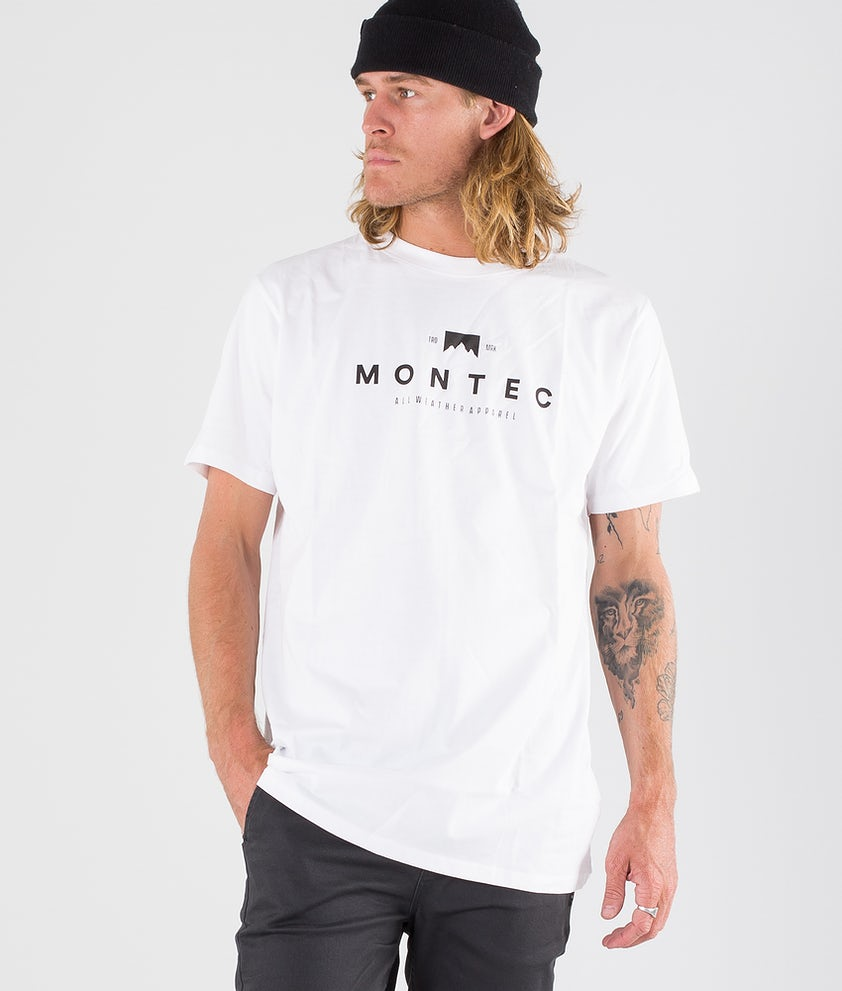 Montec Fancy T-shirt White