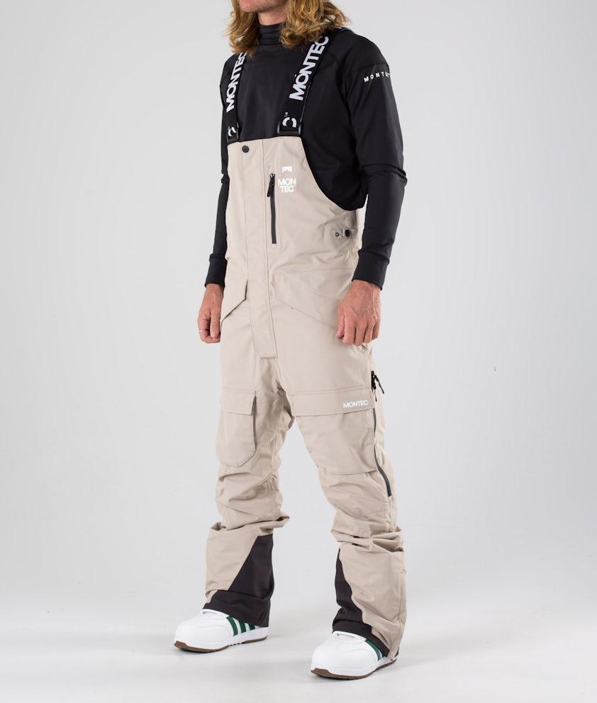 Montec Fawk Pantaloni da snowboard Desert