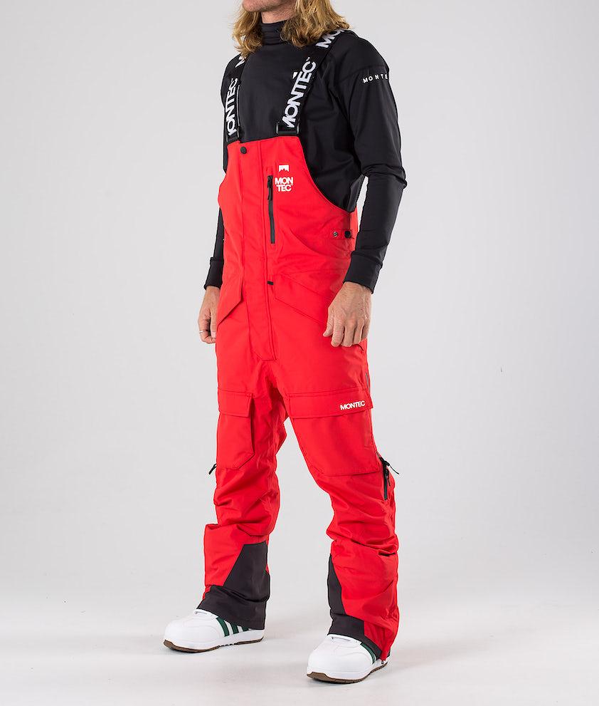 Montec Fawk Snowboardbukse Red