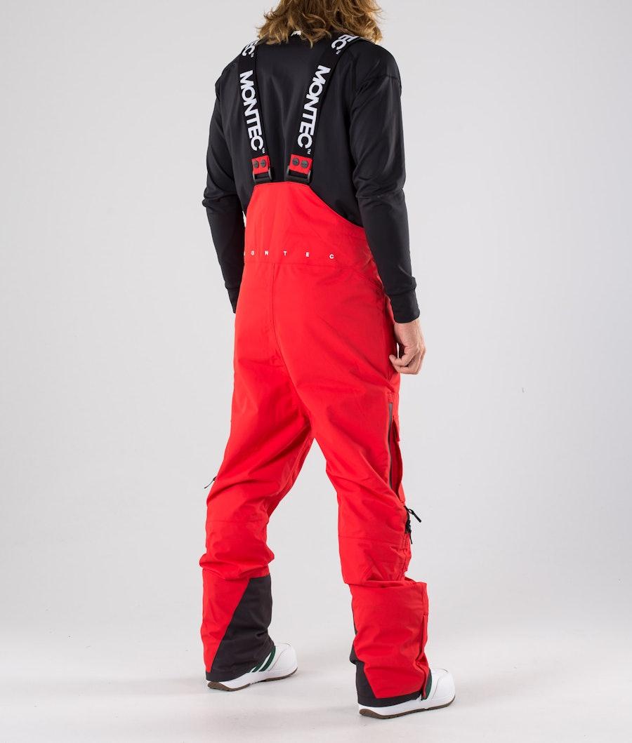 Montec Fawk Snowboardbyxa Red