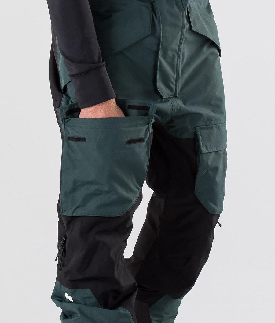 Montec Fawk Snowboard Pants Dark Atlantic/Black