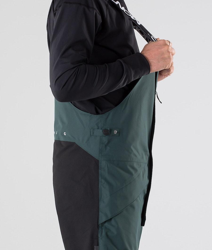 Montec Fawk Pantaloni da snowboard Dark Atlantic/Black