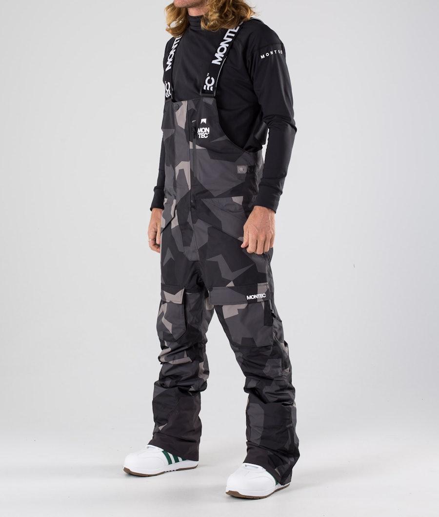 Montec Fawk Pantaloni da snowboard Night Camo