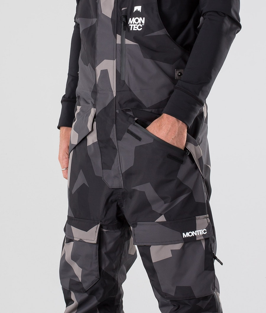 Montec Fawk Snowboard Pants Night Camo