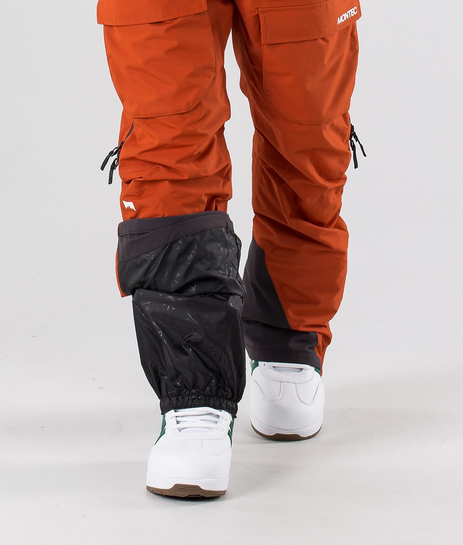 Montec Fawk Pantaloni da snowboard Clay