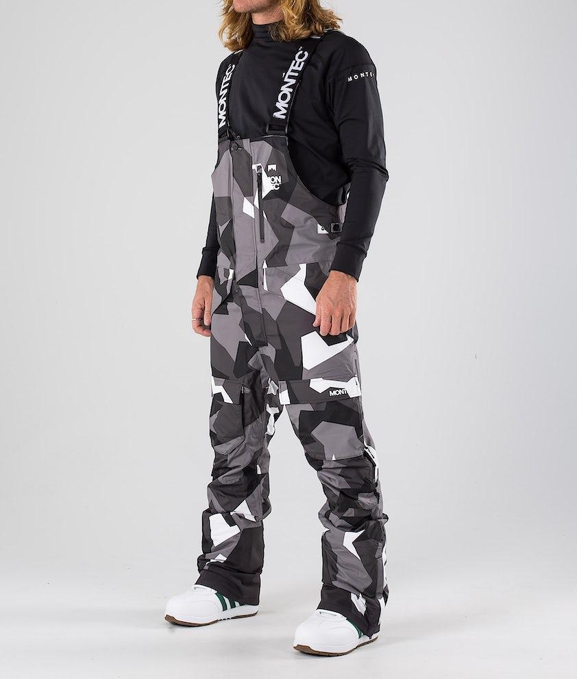 Montec Fawk Pantaloni da snowboard Arctic Camo