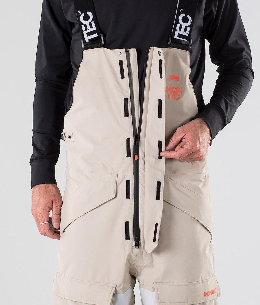 Montec Fawk Snow Pants Desert Light Grey Atlantic