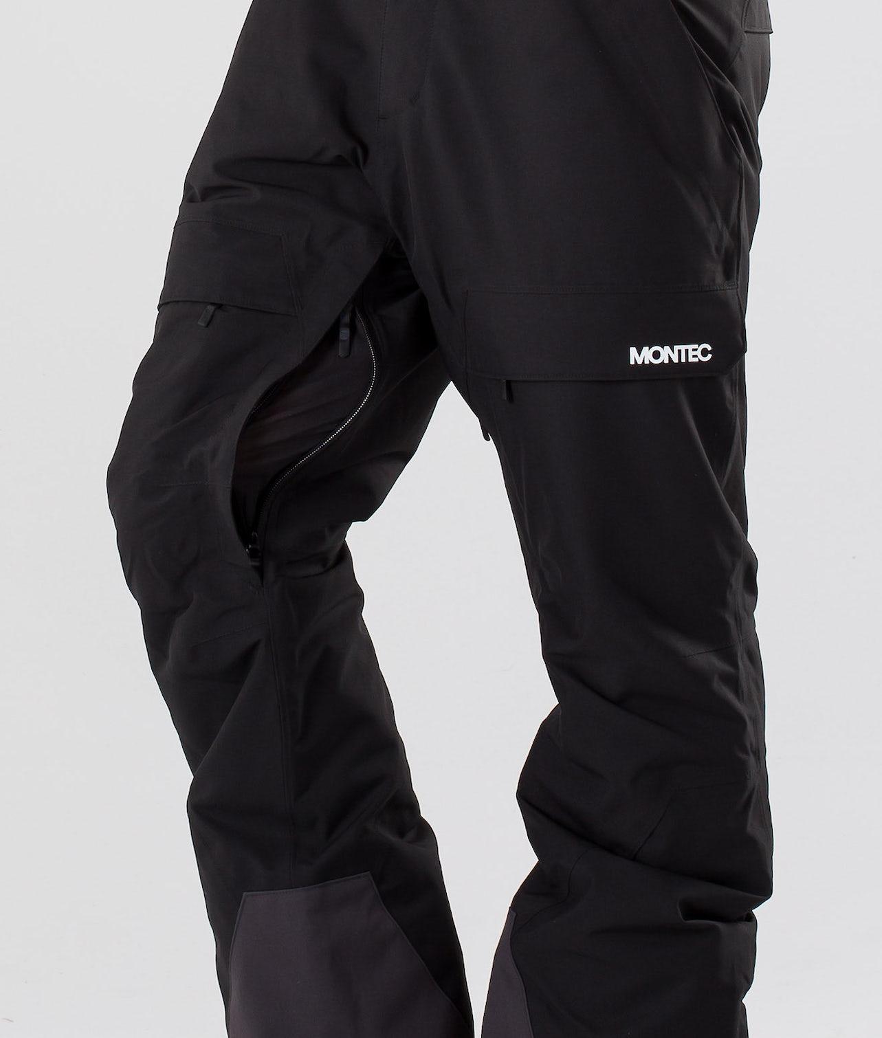 Montec Dune Snowboardbukse Black