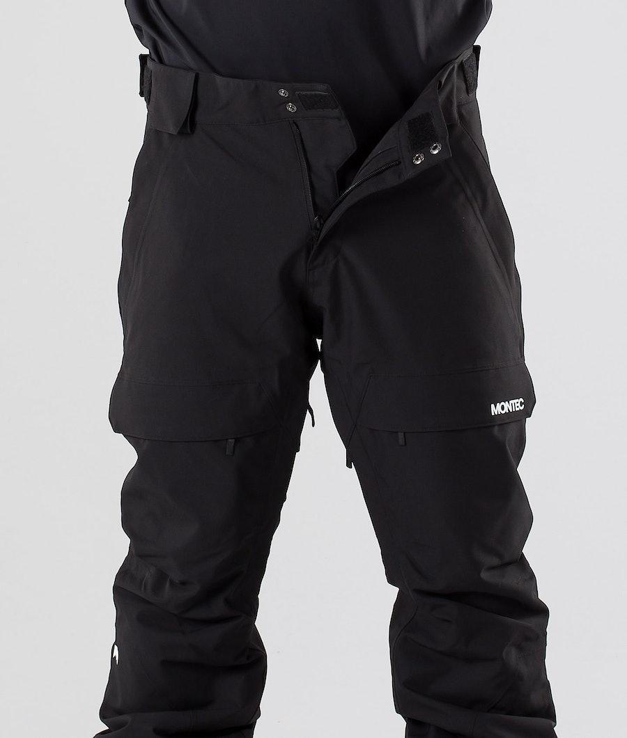 Montec Dune Pantaloni da snowboard Black