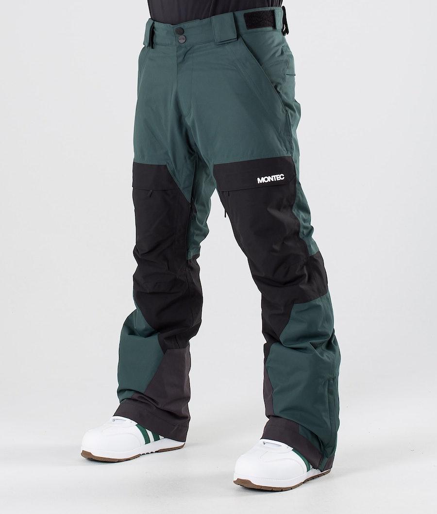 Dune Snowboard Pants Men Dark Atlantic/Black
