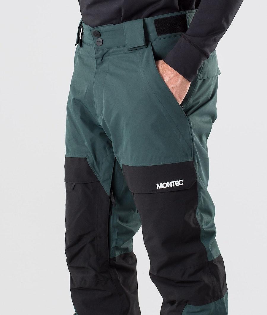 Montec Dune Pantaloni da Snowboard Dark Atlantic/Black