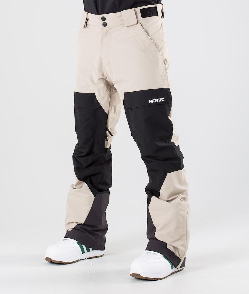 Montec Dune Pantaloni da snowboard Desert/Black