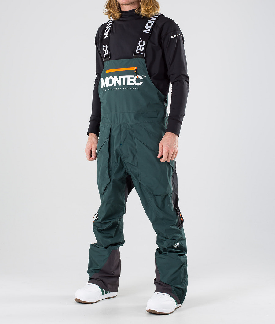 Montec Fenix Pantalon de Snowboard Dark Atlantic