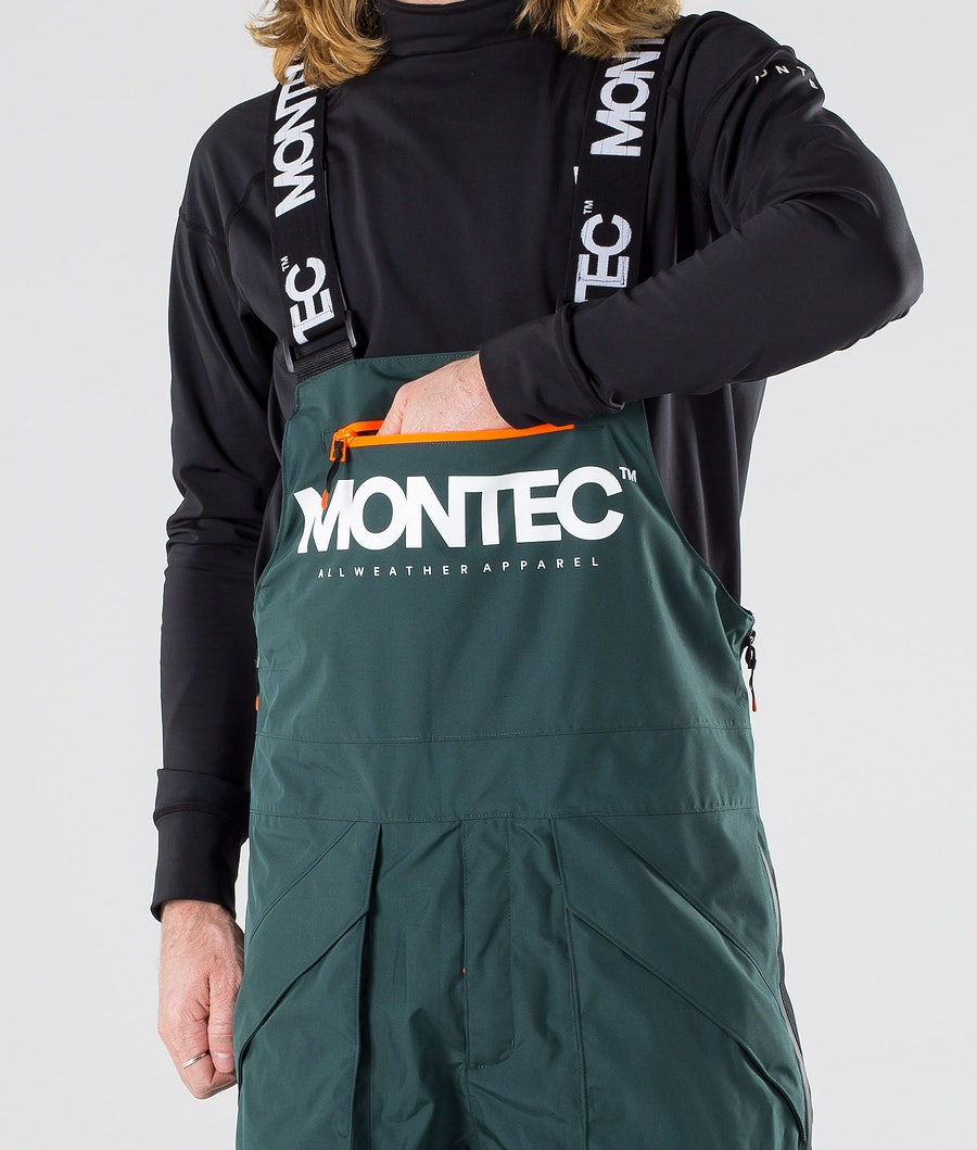 Montec Fenix Pantaloni da snowboard Dark Atlantic