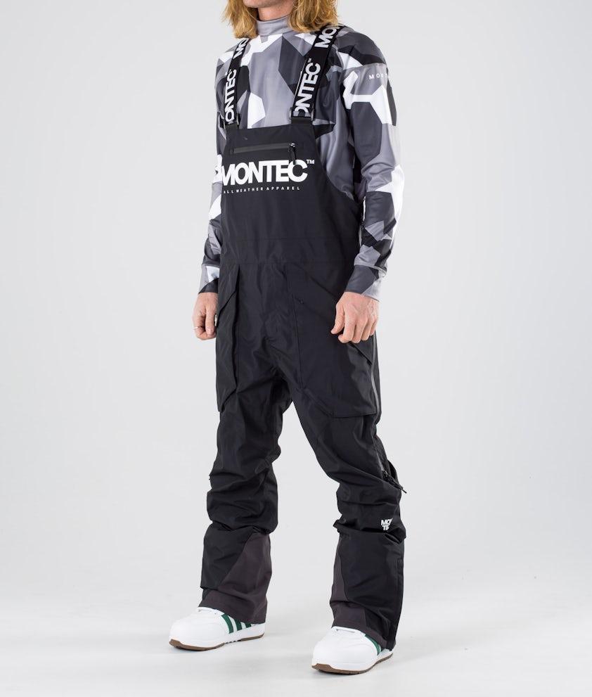 Montec Fenix Pantalon de Snowboard Black