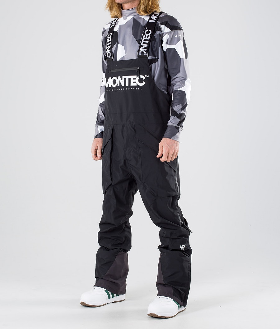 Montec Fenix Snow Pants Black
