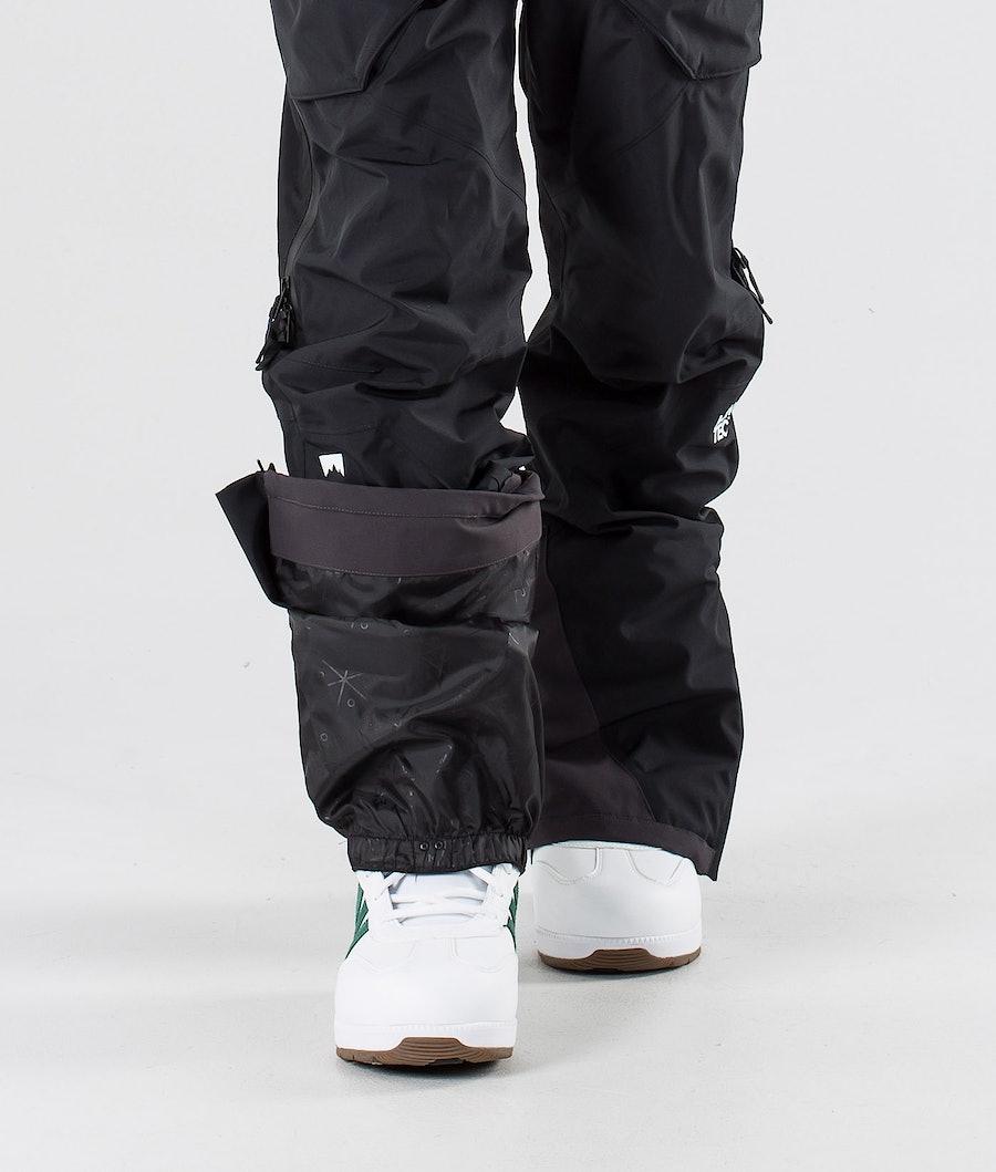 Montec Fenix Pantaloni da snowboard Black