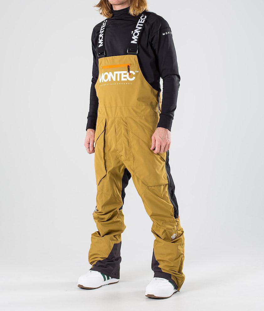 Montec Fenix Snowboardbukse Gold