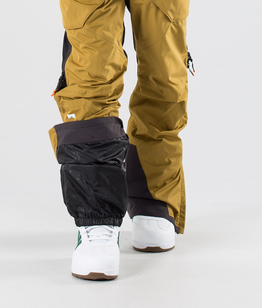 Montec Fenix Snow Pants Gold